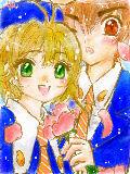 こっぴー♪サマリク「カードキャプター」の「桜と小狼」です!単行本持ってる人はどこの場面か…分からないな、この絵じゃ^^ リクありがとうございましたっ!!