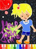 [2009-07-22 17:52:08] おもいっきりハイテンションな絵が描きたかった!