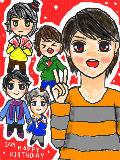 [2010-01-27 18:52:42] 2日遅れですが・・・翔さんおめでとうございました