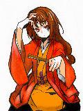 [2010-02-07 20:38:04] 蕪羅亭魔梨威(ぶらてい まりい)  なんか顔のバランスがおかしくなったorz&赤髪じゃねえorz