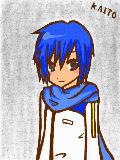 *柊梓*さんリク。kAITO兄さんです♪ 下手で線も色塗りも汚くなってしまってごめんなさい^p^しかもこんな駄絵描くのに時間かかり過ぎた... リクありがとでした!!!
