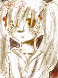 [2010-04-10 21:18:56] 茶色で来実を描いてみる(*´ω`*)「泣いてないんだから!!早く出てって!暇なら漫画買ってきてよ!!」by来実