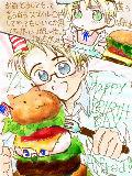 [2010-07-03 13:47:51] デレ全開で誕生日おめでとうをいいたい日・・・でも今年もアーサーはきっとこんな感じ^^とか思ってしまう。