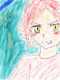 """[2010-08-01 01:32:19] お祭り参加!!バーンです!(服は気にしないで)結構雑になりましたが。(-""""-;)"""