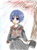 うち学の制服をKAITO(ゲフン KAIKOに着せてみたw