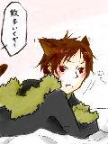 新宿の情報屋さんが猫化しました。背景はスタッフが美味しくいただきました^ω^