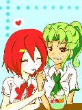 [2011-05-22 18:58:47] ヒロトちゃんとリュウジちゃん 女装にしか見えないwww