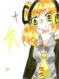 黄色ミク(ショート)