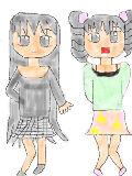 [2011-08-02 11:23:20] 中身が違う双子(左の女の子:ちょっと静かで、真面目っぽい女の子  右の女の子:いつもはしゃぐ女の子)