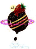 [2011-08-08 03:44:26] 惑星仕立てのショコラケーキ