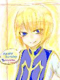 遅れてすいませんでしたああああわきこ先輩誕生日おめでとうございますー!!!