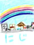 [2012-03-17 10:32:01] にじと住宅と青空と