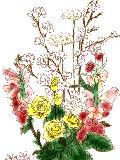 [2012-04-13 22:14:22] 今週の職場の花(別フロア)