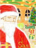 Santa Claus…  (弟作)