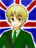 ちょっと笑顔のイギリスさん(´▽`*)