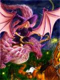 ハロウィンの竜