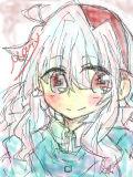 初投稿!中1がマウスで描いたマリーちゃん*^^*