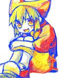 赤+黄+青=にゃにゃこ