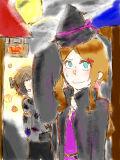 【ブラックボード】ハッピーハロウィン!!きぇあちゃんと仮装して君達の家にいっちゃうぞ!!