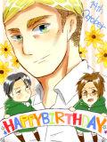 エルヴィン誕生日おめでとう!