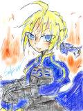 青い騎士王様