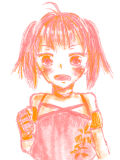 ピンク×オレンジ