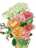 [2017-04-26 00:10:26] 今週の職場の花