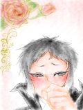 芥川さん描いた